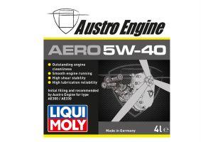 Liqui Moly liefert Spezialöl für Austro Engine Kerosinmotoren