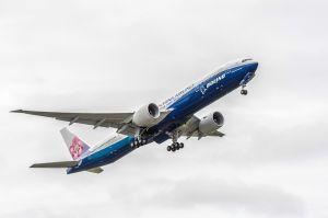 Boeing 777-300ER im Co-Branding für China Airlines