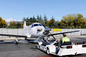 Satellitenkommunikation für Pilatus PC-12 nachgerüstet