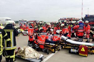 Notfallübung am FMO mit 1.100 Beteiligten