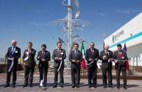 Eröffnung eines Eurocopter-Fertigungszentrums in Mexiko