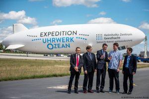 Zeppelin ermöglicht Erforschung des Räderwerks Ozean