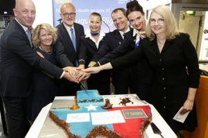 Erstflug Frankfurt – Austin von Condor gestartet