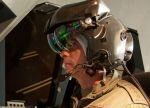 Helmdisplay ermöglicht Hubschrauberpiloten virtuelle Sicht