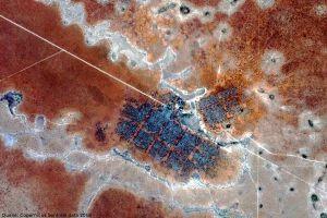 Satelliten machen Bewegungen in Flüchtlingslagern deutlich
