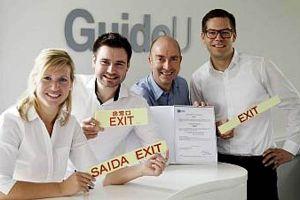 GuideU: Zulassung für photolumineszente Schilder von LHT