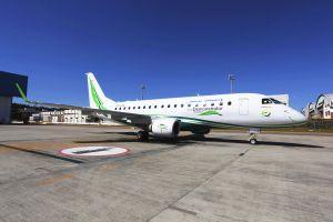 Boeing fliegt Embraer als ecoDemonstrator