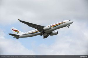 Modernster A330-200 mit 242 Tonnen MTOW geht nach Tibet