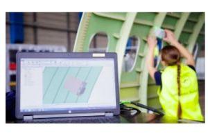 Augmented Reality bei LHT: Laser hilft bei Kabinenausbau
