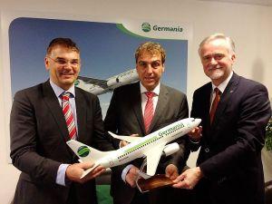 Germania bringt Flugzeug und mehr Reiseziele an den FMO