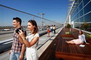 Besucherterrasse am Flughafen Frankfurt wieder geöffnet