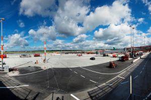 Vorfeld-Erneuerung am Flughafen Hamburg kommt voran