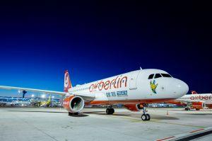 Star Trek an Bord von airberlin A320 – mit