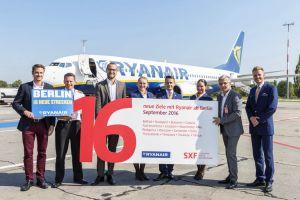 Ryanair bringt mehr Reiseziele nach Berlin: 16 Destinationen