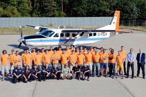 DLR Summer School macht Vorlesung im Flugzeug