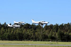 Aero Club Nürnberg fliegt neue Piper PA28 ein