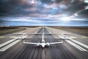 DA40 Tundra Star flog zur Flugschule nach Island