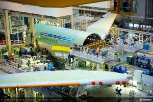 Airbus montiert ersten A330neo