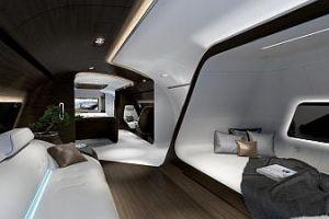 Mercedes-Benz Style im Flugzeug auf Monaco Yacht Show