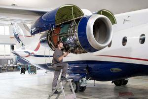 Dornier 328-300 Business Jet aus Nigeria zur Inspektion in Bern