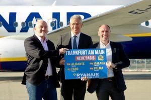 Ryanair fliegt 2017 ab Flughafen Frankfurt