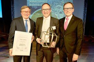 Managerpreis für Flughafen Weeze-Chef van Bebber