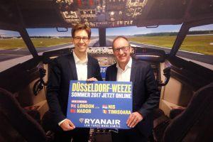 Ryanair ab Weeze nach London, Nador, Nis und Timisoara