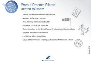 Tech-Konferenz bei der Flugsicherung zum Thema Drohnen