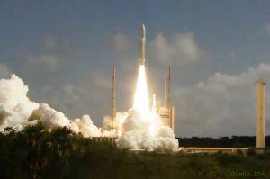 Ariane-Rekord bringt vier Galileo-Satelliten in Umlaufbahn