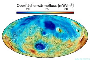 Messpunkt Elysium Planitia auf Dampfmaschine Mars