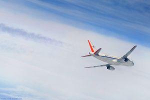 Warnsystem vor Wirbelschleppen hilft Passagierjets