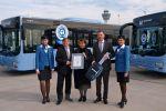 Neue MAN-Busse für Passage am Flughafen München
