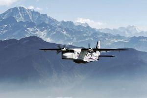 Dornier 228 erhält ASC in Bern-Belp