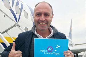 Ryanair will den Weiterbetrieb für Flughafen Tegel