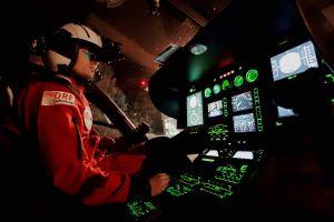 Luftretter: H145 fliegen mit Nachtsichtbrillen