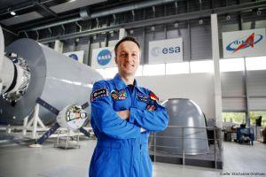 Matthias Maurer aus Deutschland im ESA-Astronautenkorps