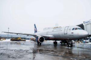 Aeroflot A320 startet Wien – Moskau
