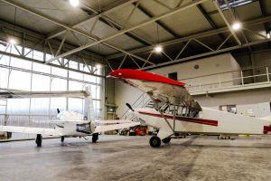 Servicehangar am Flugplatz EDTG fertiggestellt