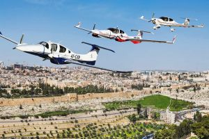 Diamond DA62 erstmals in Israel