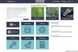 DLR macht Daten aus Copernicus zugänglich