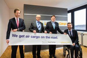 Lufthansa Cargo ehrt Unternehmenspartner