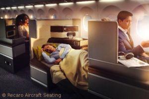 Recaro verfeinert Business-Class der ersten A330-900neo