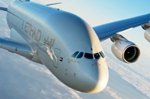 Residence im Etihad Airways A380 nach Paris