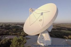 MT Mechatronics baut Radioteleskop für Thailand