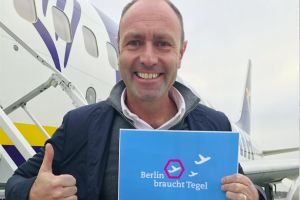 Ryanair: Berliner für Flughafen Tegel