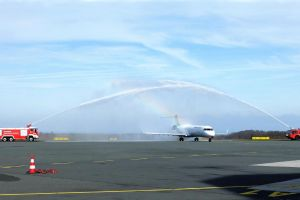 Erstflug LH 363: PAD – Frankfurt