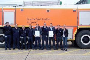 Feuerwehr am Hahn-Airport erhält DFFA
