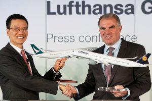 LH und Cathay Pacific Airways vereinbaren Codeshare