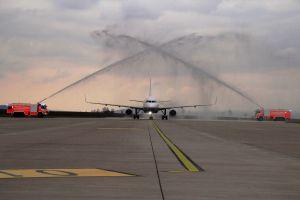Kassel feierte Erstflug nach Athen von Aegean Airlines
