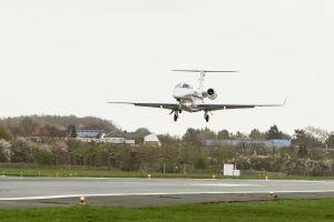Erste Passagiermaschine landete mit SBAS
